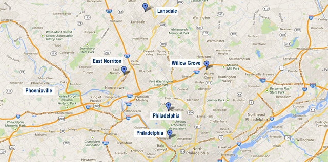 Six Philadelphia Sleep Apnea and Snoring Center Locations