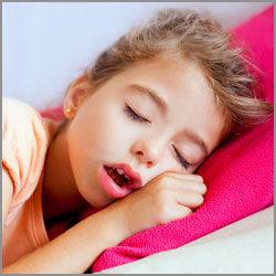 Snoring and sleep apnea in children